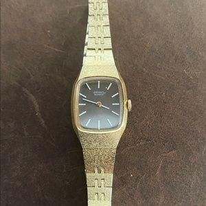 Vintage Ladies Seiko Gold Watch